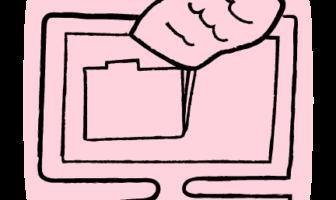 illustration of computer