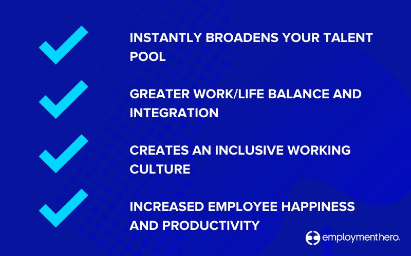 Benefits of remote first working - Employment Hero