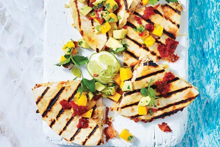 image of chicken quesadillas