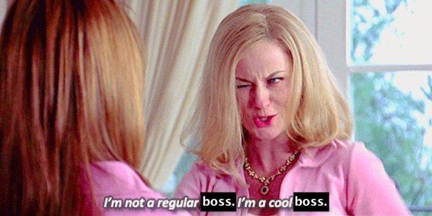 I'm not a regular boss, I'm a cool boss - mean girls meme - employee christmas gifts