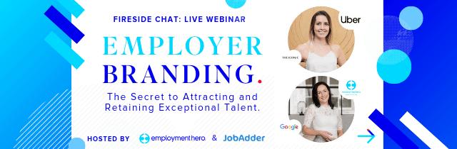 Employer branding Employment Hero JobAdder Uber
