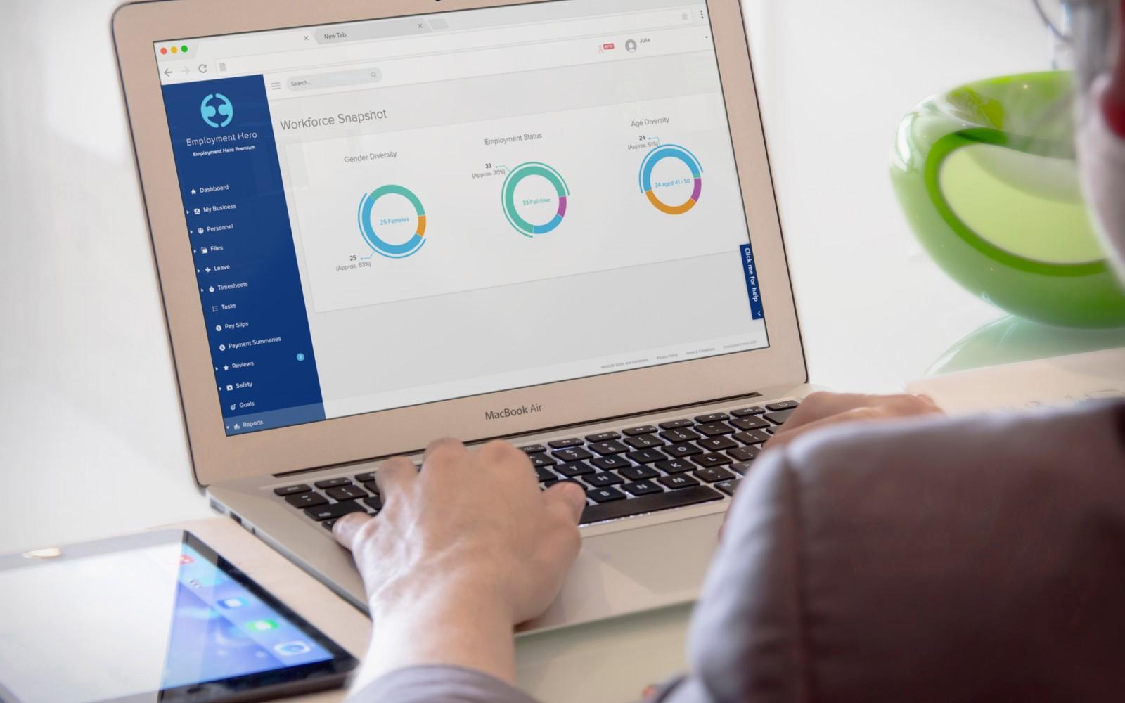 Implementing HR Tech - Laptop