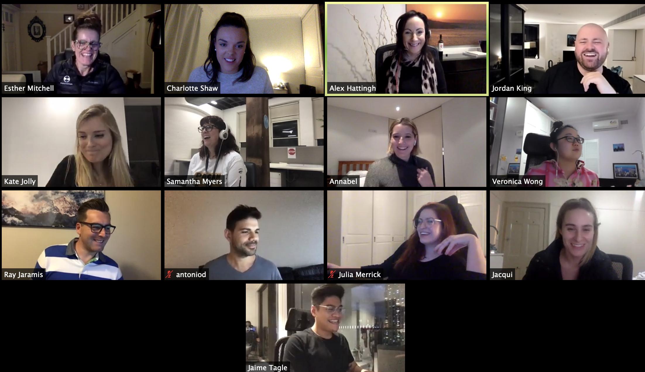 Employment Hero Team Virtual Chit Chat