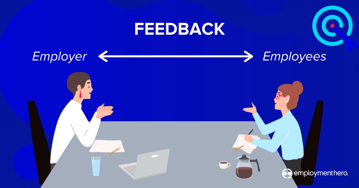 Feedback for the employer and employee - employee surveys