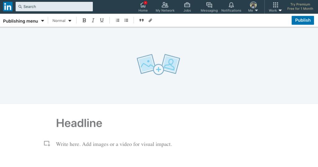 Article Editor LinkedIn