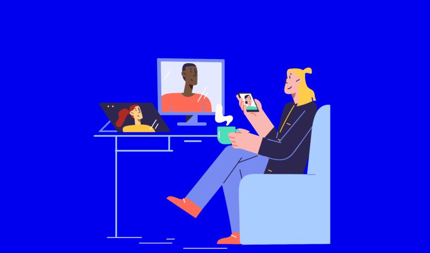 workforce mobility illustration